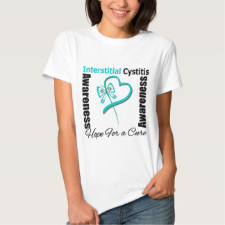 Butterfly Heart - Interstitial Cystitis T-shirts