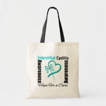 Butterfly Heart - Interstitial Cystitis Tote Bag