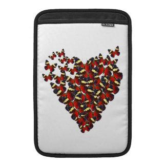 Butterfly heart MacBook air sleeve