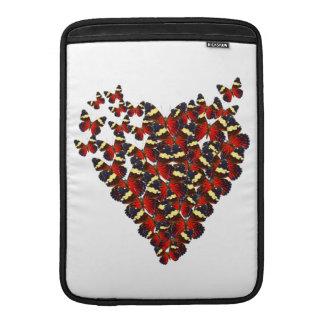 Butterfly heart MacBook sleeve