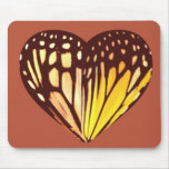 Butterfly Heart Mouse Pad
