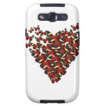 Butterfly heart samsung galaxy s3 covers