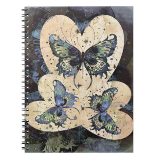 Butterfly Hearts | Today I Love You Notebooks