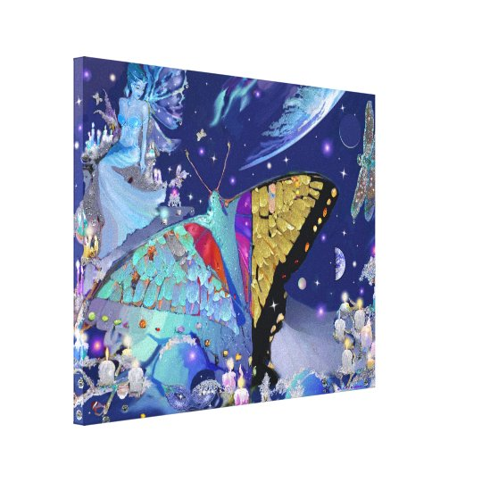 Butterfly Heaven Canvas Print