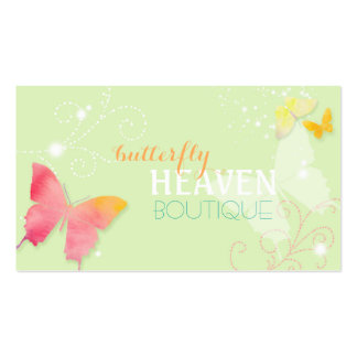Butterfly Heaven Fashion Boutique Business Cards
