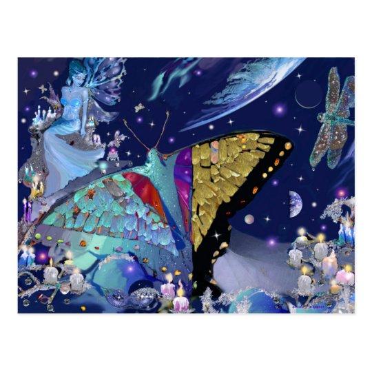 Butterfly Heaven Postcard