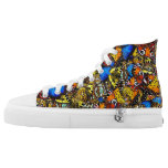 Butterfly High Top Sneakers