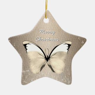 Butterfly - Holiday - Any Occasion - Star Ornament