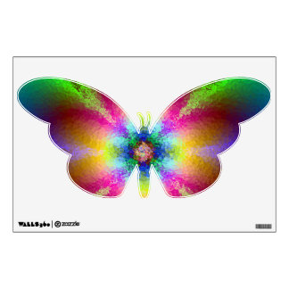 BUTTERFLY HUES WALL STICKER