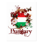 Butterfly Hungary Postcard