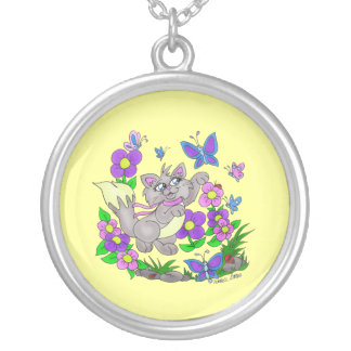 """"""" Butterfly Hunter""""  CAT Necklace"""