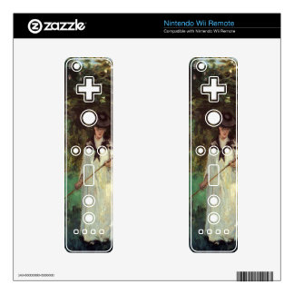 Butterfly hunting by Berthe Morisot Decal For Wii Remote