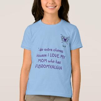 butterfly I do extra chores becuase I L... T-Shirt