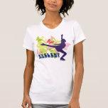 Butterfly Ice Skater T-shirt