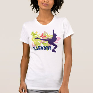 Butterfly Ice Skater T-shirts