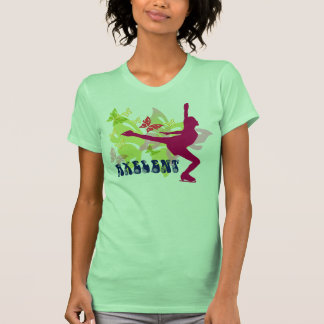 Butterfly Ice Skater Tshirt