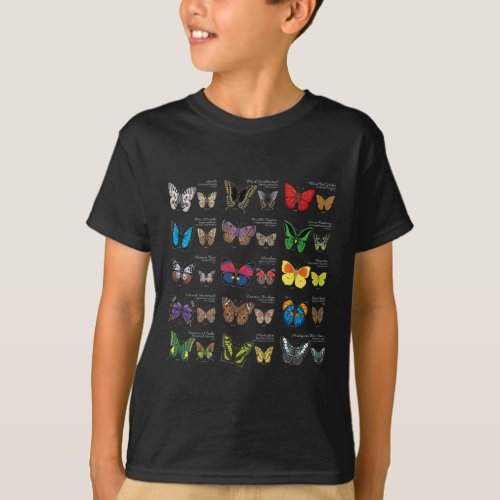 Butterfly Identification T_Shirt