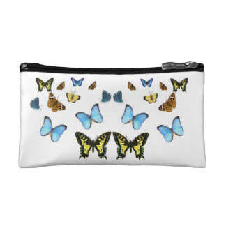 Butterfly image for Small-Cosmetic-Bag Makeup Bag