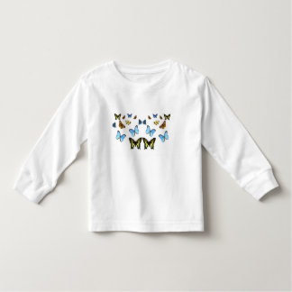 Butterfly image for Toddler-Long-Sleeve-T-Shirt Shirt