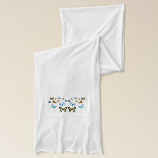 Butterfly image for White-Jersey-Scarf Scarf