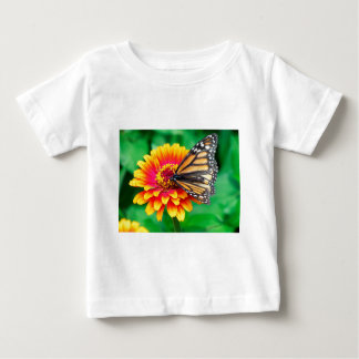 butterfly in a flower baby T-Shirt