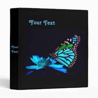 Butterfly in Blue Light Binder