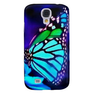 Butterfly in Blue Light Samsung S4 Case