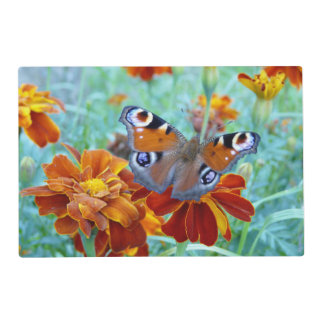 Butterfly In Colorful Garden Placemat