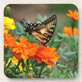 Butterfly In Garden Coaster Set