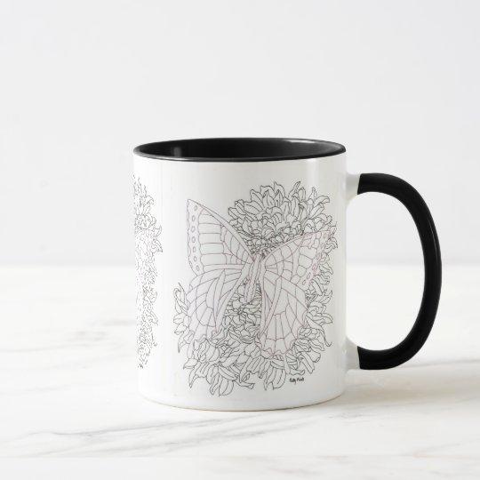 Butterfly In Ink Mug