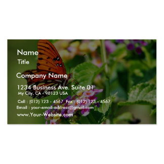 Butterfly In Louisiana Double-Sided Standard Business Cards (Pack Of 100)