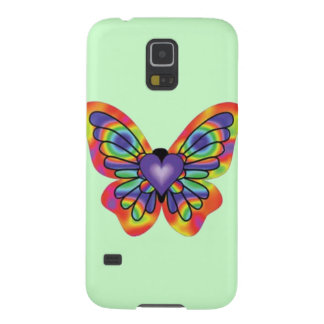 Butterfly in my Heart Cases For Galaxy S5