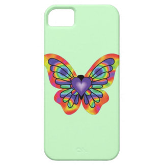 Butterfly in my Heart iPhone SE/5/5s Case