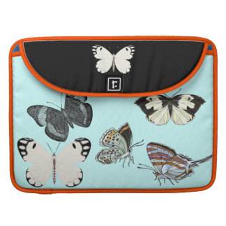 Butterfly in several languages by FRenee2 Sleeve For MacBook Pro
