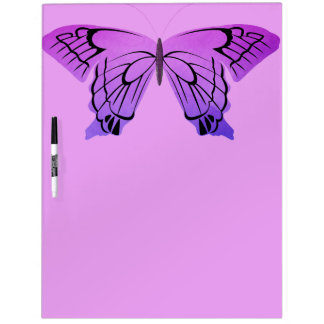 Butterfly in Shades of Purple Dry-Erase Whiteboards