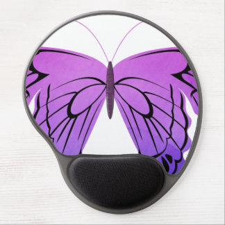 Butterfly in Shades of Purple Gel Mouse Mat