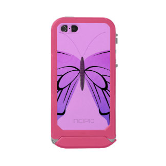 Butterfly in Shades of Purple Waterproof Case For iPhone SE/5/5s