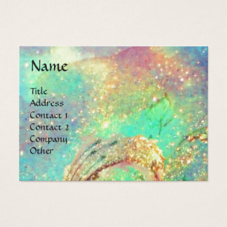 BUTTERFLY IN SPARKLES BUSINESS CARD