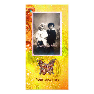 BUTTERFLY IN SPARKLES CARD