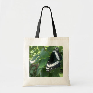 butterfly in spring. canvas bags
