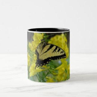 Butterfly in the Esperanza Two-Tone Coffee Mug