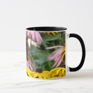 Butterfly in the Flowers Mug