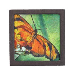 Butterfly in the garden jewelry box