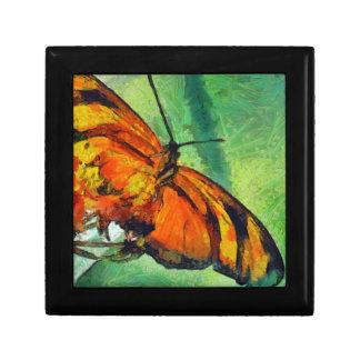 Butterfly in the garden keepsake box