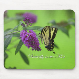 Butterfly in the Mist - Mouse Pad
