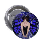butterfly in the rain button