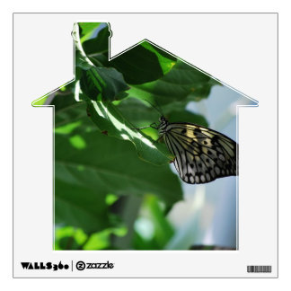 Butterfly In The Shade Wall Decal