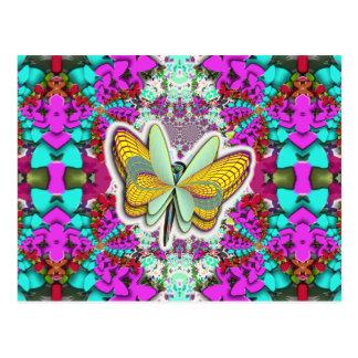 Butterfly Infinity Postcard