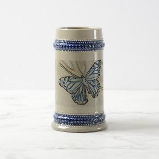 Butterfly Ink Beer Stein