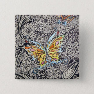 Butterfly Ink Button